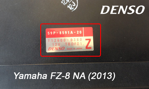 ECU Label Denso